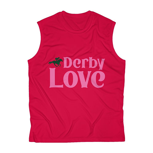 DerbyLove Men's Sleeveless Breathable Dry Workout Tee