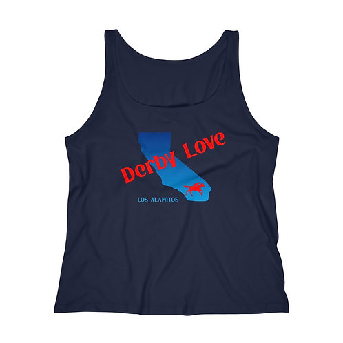 DerbyLove Los Alamitos Women's Fitness Workout Tank Top Jersey