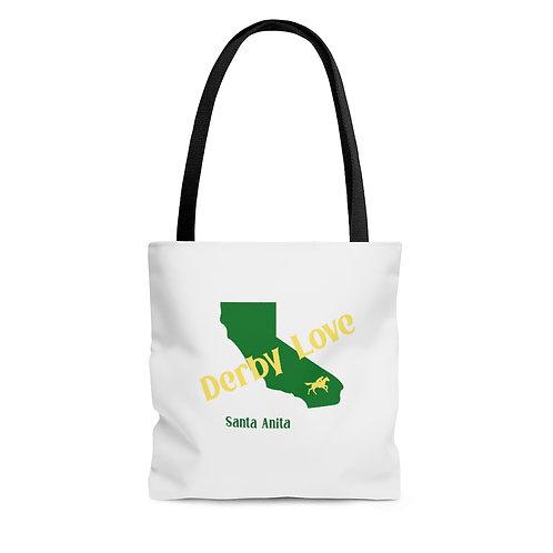 DerbyLove Santa Anita Tote Shoulder Hand Bag Shoppers Bag