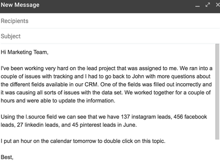 Email Bootcamp: Update Emails