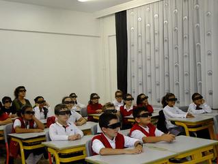 3d teknolojisi ile fen derslerimiz çok keyifli… Gaziantep Kolej Vakfı
