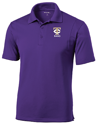 TCHS BAND POLO PURPLE