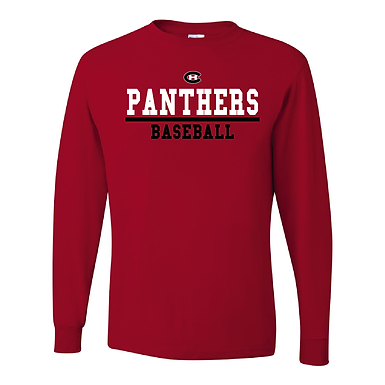 (2) Long Sleeved Shirt- Red