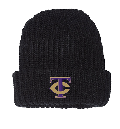 TCHS BAND BEANIE BLACK