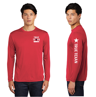 TTP: UV PROTECTANT LONG SLEEVE- RED