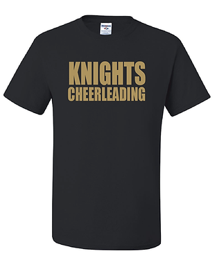 KYA CHEER- KNIGHTS T-SHIRT