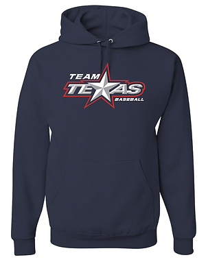 TEAM TEXAS STAR HOODIE- NAVY