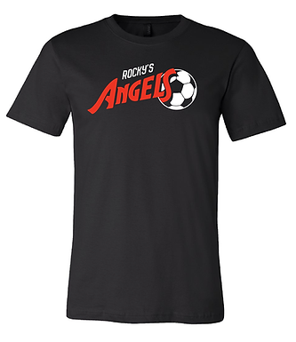ANGELS SOCCER- CLASSIC TEE- BLACK