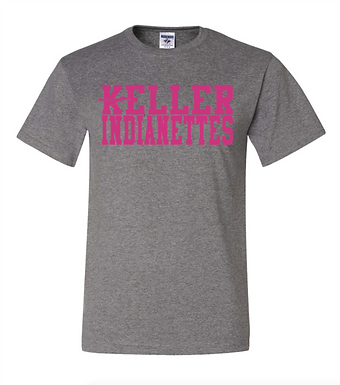 INDIANETTES  PINK Spear T-Shirt