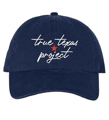 TTP: DAD HAT- BLUE SCRIPT
