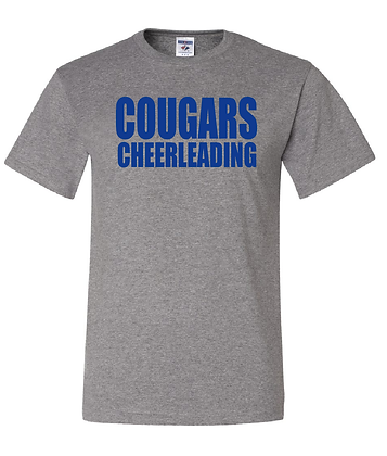 KYA CHEER- COUGARS T-SHIRT