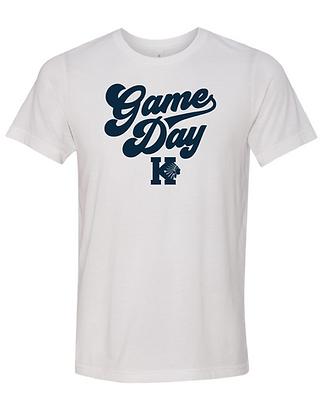 KHS BASEBALL- GAME DAY TEE- WHITE
