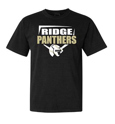 RIDGE PANTHERS SHIRT- BLACK