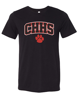 CHHS Glitter Paw Soft Shirt