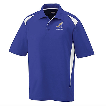 TCHS THEATRE POLO- PURPLE