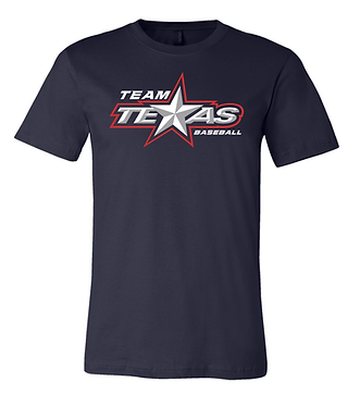 TEAM TEXAS STAR TEE- NAVY