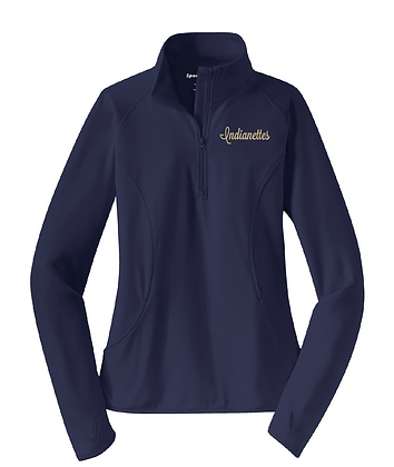 INDIANETTES LADIES 1/4 ZIP