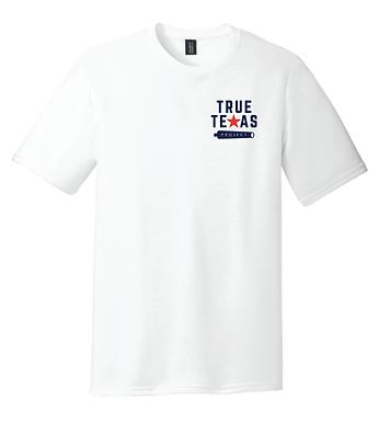 TTP- SMALL LOGO T-SHIRT-WHITE