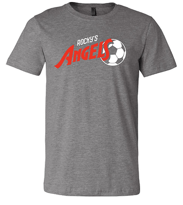 ANGELS SOCCER- CLASSIC TEE- GRAY