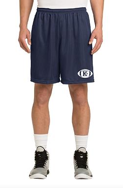 KELLER FOOTBALL- NAVY SHORTS