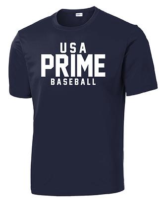 USA PRIME- CLASSIC TEE- NAVY