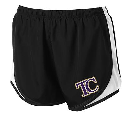 TCHS BAND- LADIES SHORTS- BLACK