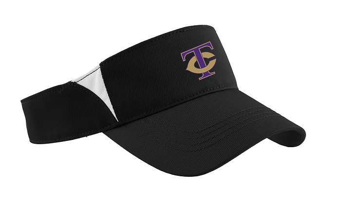 TCHS BAND VISOR BLACK