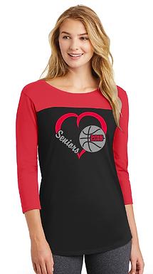 Basketball Seniors- Mom Shirt