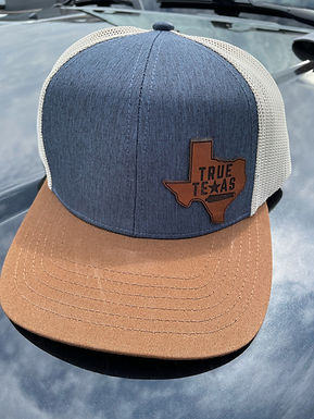 TTP: LEATHER PATCH HAT- TEXAS TRI