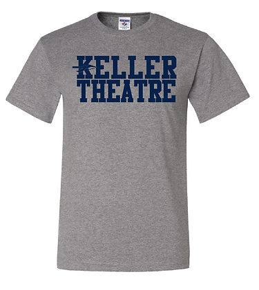 KHS THEATRE- GRAY BASIC TEE