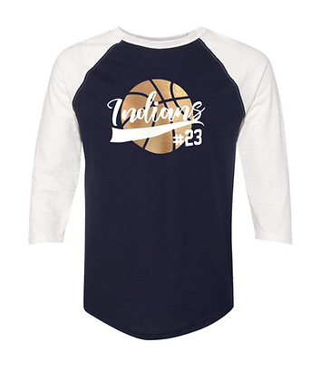 KHS BASKETBALL RAGLAN