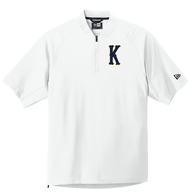 KHS BASEBALL- CAGE JACKET- WHITE
