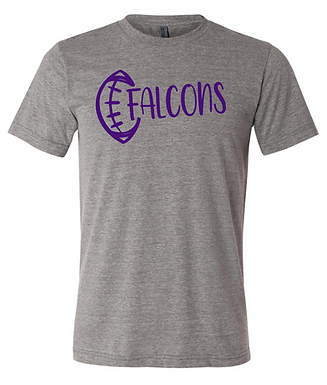 TCHS FALCONS FOOTBALL TEE
