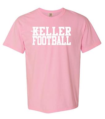 Pink Keller Football Shirt