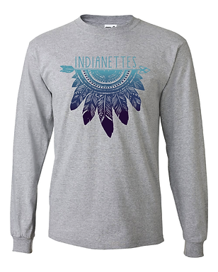 Feather Long Sleeved T-Shirt