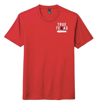 TTP- SMALL LOGO T-SHIRT- RED
