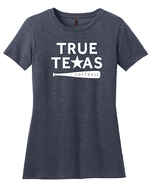 TRUE TEXAS SOFTBALL- WOMEN'S TEE