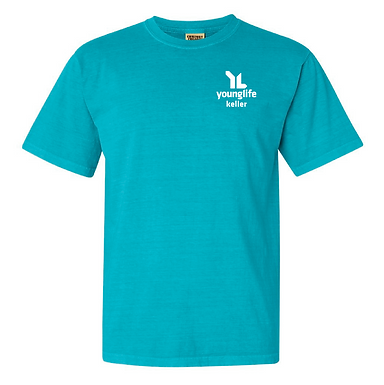 Lagoon Blue Young Life Comfort Colors