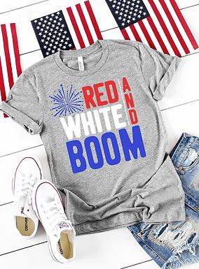 RED WHITE & BOOM