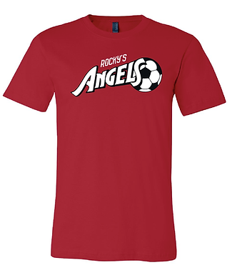 ANGELS SOCCER- CLASSIC TEE- RED