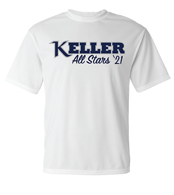 KYA All-Stars- Dry-Fit Shirt- White