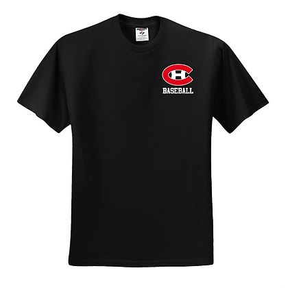 2016 BASEBALL BLACK SHIRT