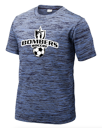 BOMBERS SOCCER- GRUNGE DRY-FIT SHIRT