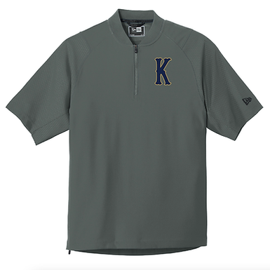 KHS BASEBALL- CAGE JACKET- GRAY