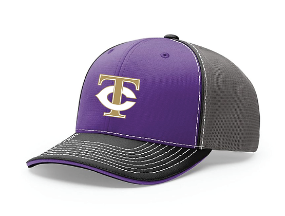 TCHS BAND HAT PURPLE/CHARCOAL