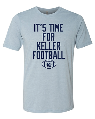 TIME FOR KELLER FOOTBALL