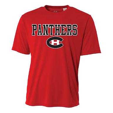 2016 PANTHER SHIRT- RED