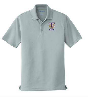 TCHS BAND POLO GRAY