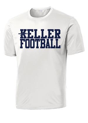 KELLER FOOTBALL- WHITE DRY-FIT