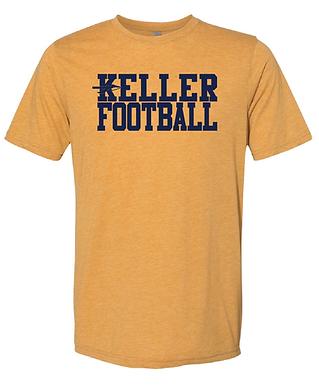KELLER FOOTBALL GOLD